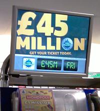 Example of digital signage